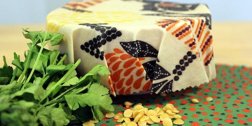 Make your own beeswax cloth wraps 10.30-11.30 AM
