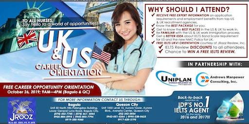 JRooz Nurses for UK and US Career Orientation on October 26, 2019