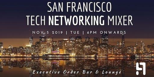 SF Tech Networking Mixer | Executive Order Bar & Lounge| November 5th, 2019