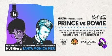 HUSHfest Silent Disco: Prince vs. Bowie tickets