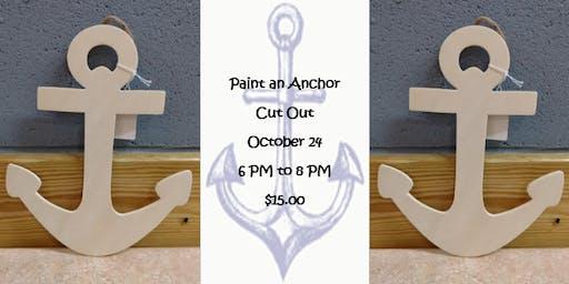 Paint an Anchor Cut Out