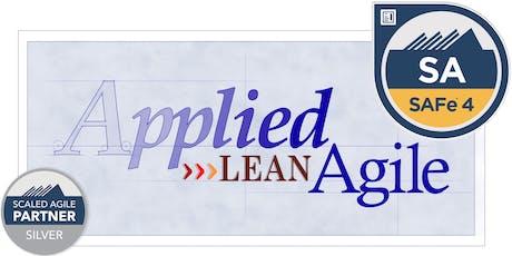 SAFe® Agilist 4.6 - Leading Teams in Scaled Agility (SA), Oct 26-27 [Winston-Salem, NC]§ tickets