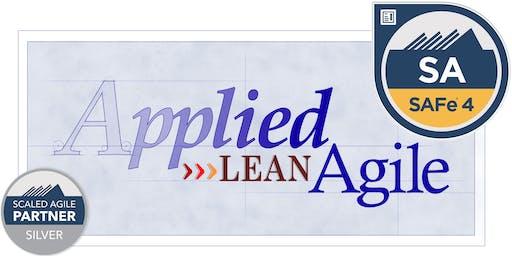 SAFe® Agilist 4.6 - Leading Teams in Scaled Agility (SA), Oct 26-27 [Winston-Salem, NC]§