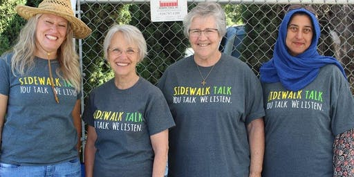 Sidewalk Talk - Tri City Volunteers Fremont, California