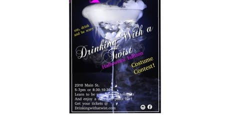 Drinking with a Twist - Halloween Edition tickets