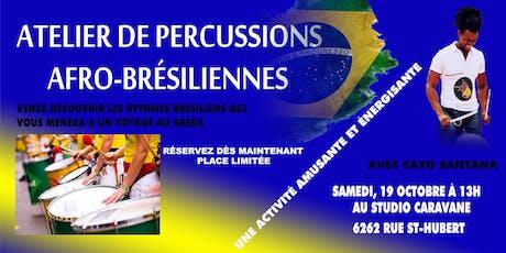 Atelier de Percussions Afro-Brésiliennes tickets