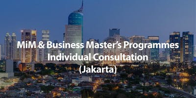 MSc in Management (MiM)& Business Master's Programmes Individual Consultation in Jakarta