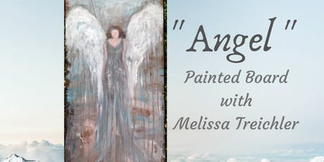 Angel Wooden Board Painting tickets