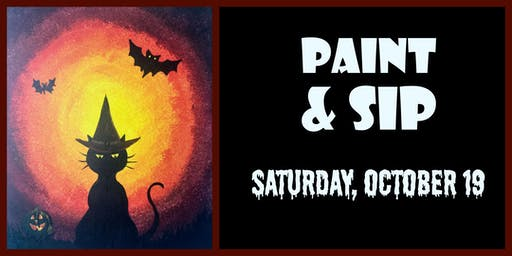 Oct 19 Paint & Sip with Breezy Beckler