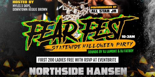 Fear Fest Statewide Halloween Party
