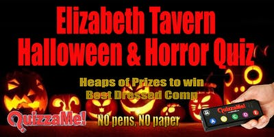Elizabeth Tavern Halloween & Horror Quiz