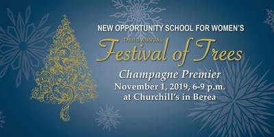 Third Annual Festival of Trees Champagne Premier