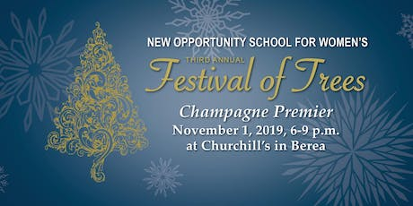 Third Annual Festival of Trees Champagne Premier tickets