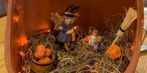 Adult Spooky Fairy House