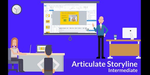 Articulate Storyline Training for Intermediate Level
