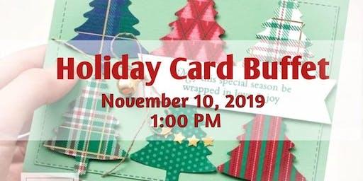 Holiday Card Buffet