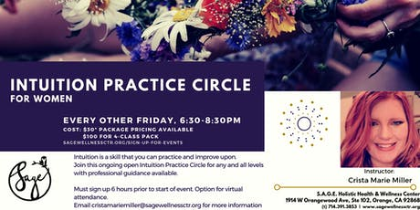 Intuition Practice Circle tickets