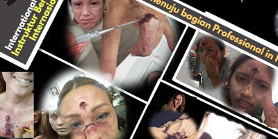 Testing Class SFX(Special Effects) Makeup Film, Class in Sby &Talent Events