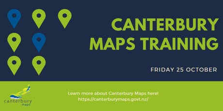 Canterbury Maps Training (Introductory) tickets