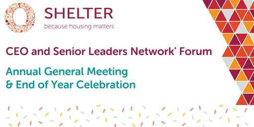CEO & Senior Leaders Network Forum |  AGM & End of Year Celebration