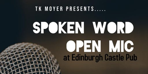 Spoken Word Open Mic At Edinburgh Castle Pub