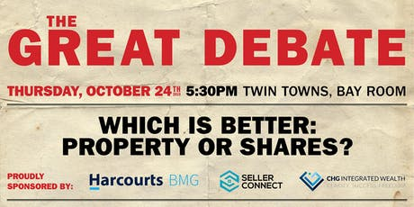 The Great Debate tickets