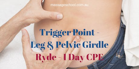 Trigger Point Therapy for Leg & Pelvic Girdle - 1 Day CPE Event (7hrs) tickets