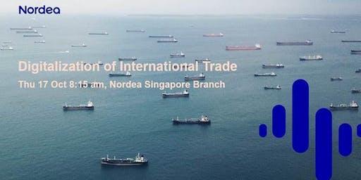 Digitalisation of International Trade
