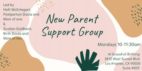 Embracing Postpartum: A New Parent Support Group tickets