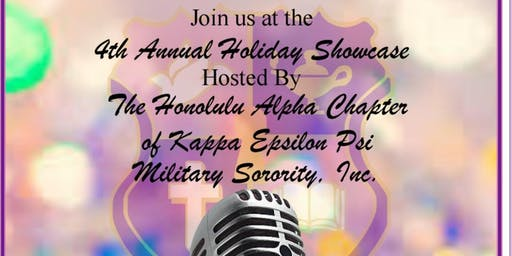 4th Annual Holiday Showcase - Live Local Entertainment