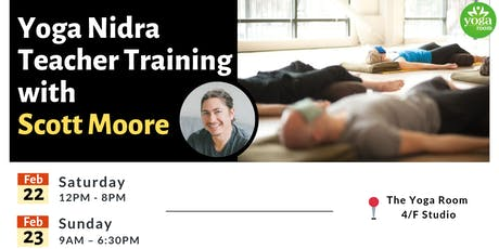 Yoga Nidra Teacher Training with Scott Moore tickets