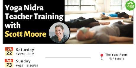 Yoga Nidra Teacher Training with Scott Moore tickets