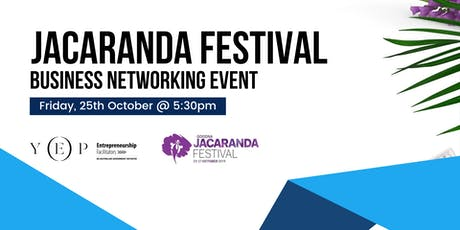 Jacaranda Festival Business Networking Event tickets