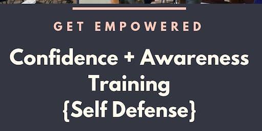 Confidence + Awareness Training {Self Defense}