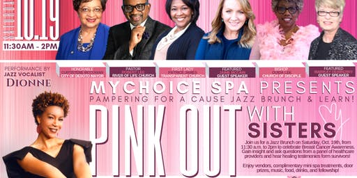 Pink Out With Sisters: Pampering for Cause Jazz Brunch & Learn