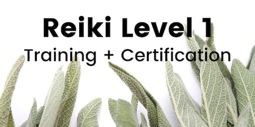 Reiki Level 1 Training + Certification
