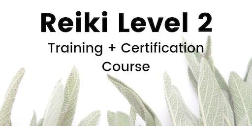 Reiki Level 2 Training + Certification Course