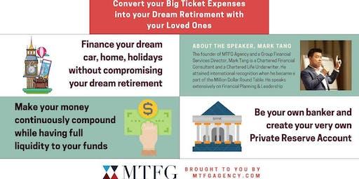 Convert your Big Ticket Expenses into Dream Retirement