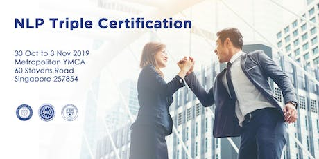 NLP Practitioner Triple Certification Course tickets