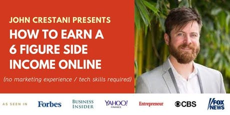 How to Earn a 6 Figure Side Income Online {Webinar} {Featured on Forbes} tickets