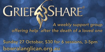 GriefShare-A weekly support group offering help after the death of a loved one.