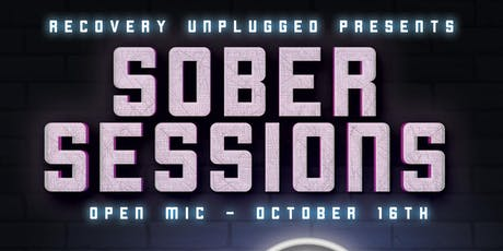 Recovery Unplugged Denver presents Sober Sessions : Open Mic 10/16/2019 tickets