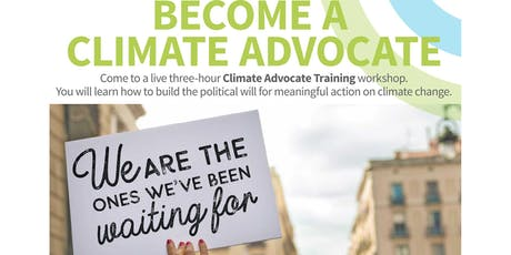 Climate Advocate Training tickets