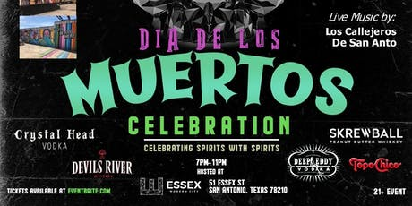 SA's 1st Annual -  Dia De Los Muertos Celebration tickets