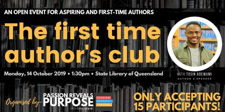 The First Time Author's Club - Brisbane tickets
