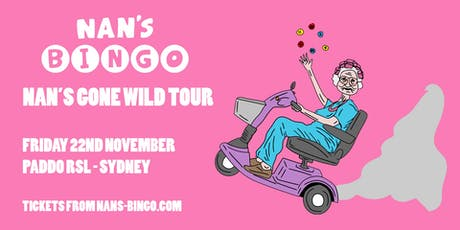 Nan's Bingo - Sydney tickets