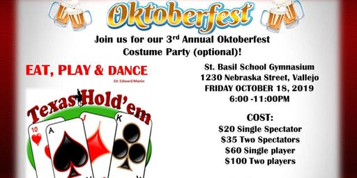 St. Basil's 3rd Annual Oktoberfest Costume Party