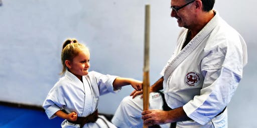 Free Trial and Enrolment to Brand New Kids Karate Class Starting in Glasgow