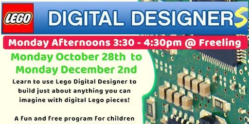 Term 4 Lego Digital Designers @ The Freeling Library