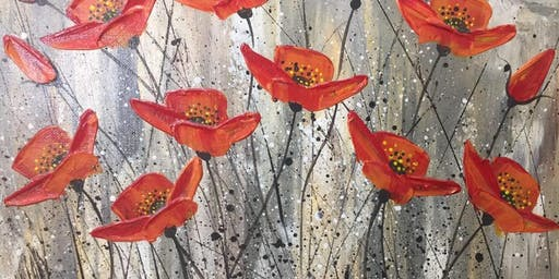 Paint with Me- Poppies